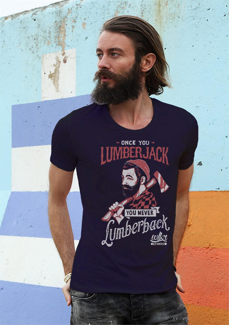 abe61f0ed Mens Beard Shirt Lumberjack Birthday Love Beards Shirt | Etsy
