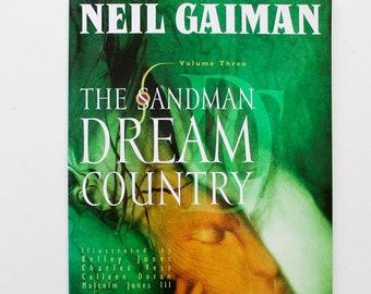 Sandman Dream Country By Neil Gaiman Volume Three 1995