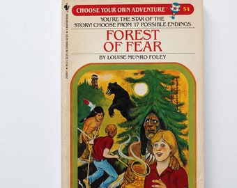 Forest of Fear Choose Your Own Adventure Paperback No. 54 1986