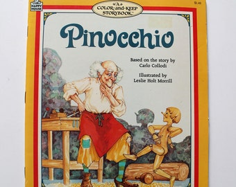 Rare Pinocchio, A Color and Keep Storybook 1987