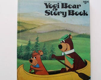 Yogi Bear Storybook Authorized Edition 1974