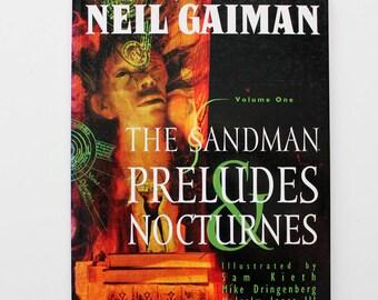 Sandman Preludes and Nocturnes By Neil Gaiman Volume One 1995