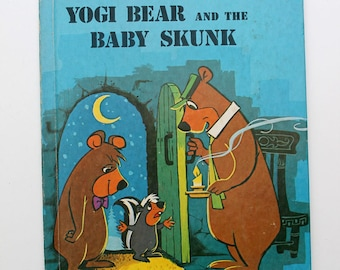 Yogi Bear and the Baby Skunk Wonder Book 1976