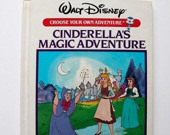 Rare Choose Your Own Adventure Cinderella's Magic Adventure 1985
