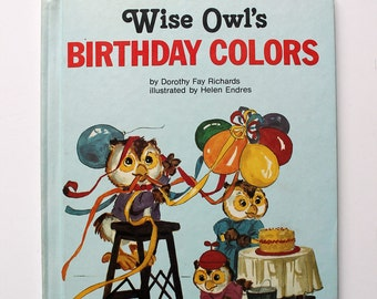 Wise Owl's Birthday Colors 1981