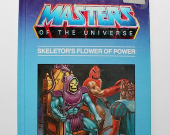 Masters of the Universe Skeletor's Flower of Power 1985