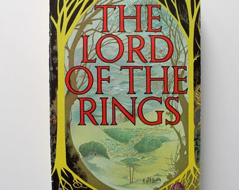 The Lord of the Rings By J.R.R. Tolkien One Volume Edition Paperback 1974