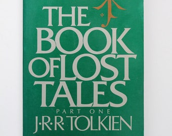 J.R.R. Tolkien The Book of Lost Tales Part One Paperback 1986