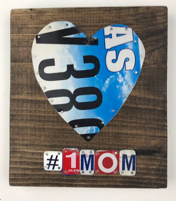 Love Laugh, License Plate Sign, garage signs, store gifts, gift for her, love sign, fun sign, gifts for mom, unique mom