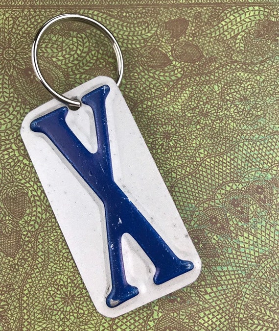 Xavier License Plate Keychain -Key Ring bag tag - Gift for graduation, gift for graduate