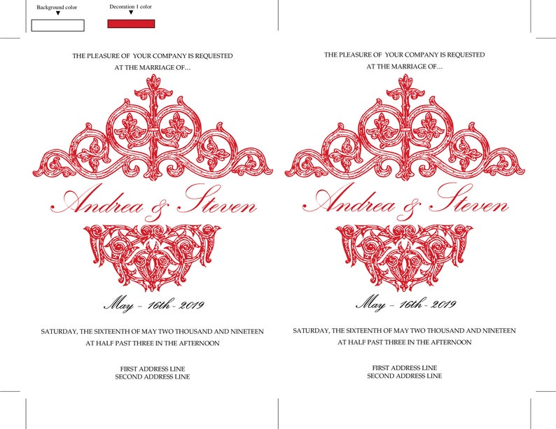 DOWNLOAD INSTANTLY DIY Red Baby Shower Invitation Red Vintage Wedding Invitation Template Editable Text /& Colors Shower Invite