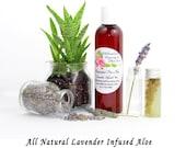 Lavender Aloe, Lavender Aloe Vera Gel, Lavender Aloe Vera, Chemical Free, Aloe Vera for skin, Natural Skin Care, Natural Aloe Vera, 4 oz
