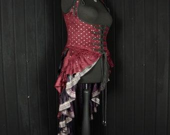 """VAMPIRA, Esmeralda Gown, (XXL 36-40"""" underbust)"""