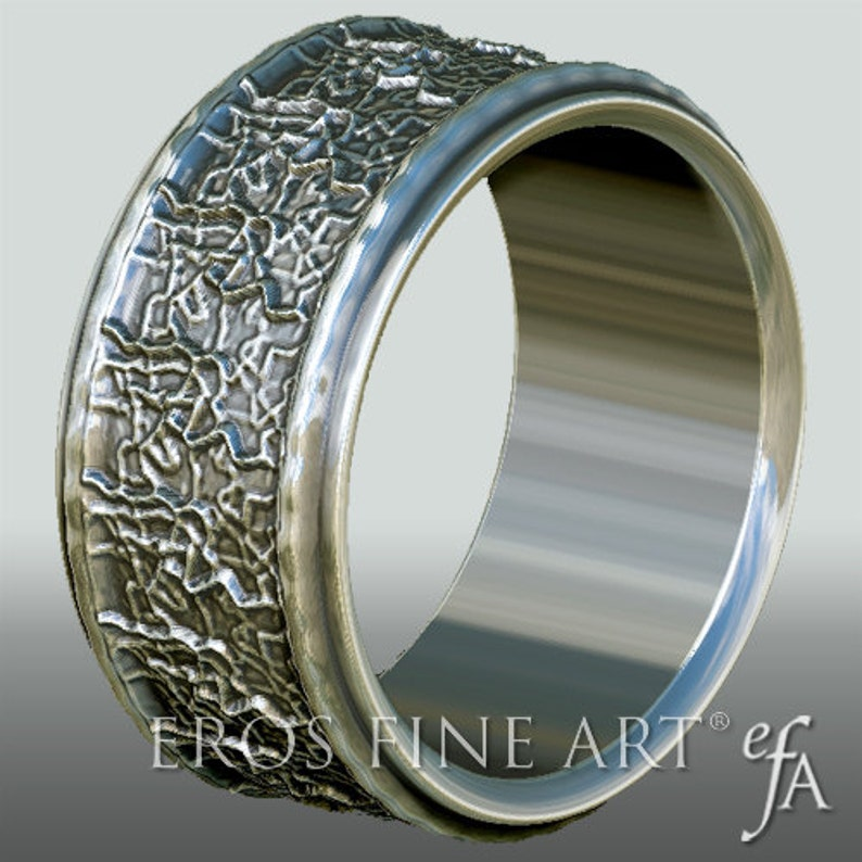 Ring No. 5  Bandring  Men's Ring  Men's Jewelery  image 0