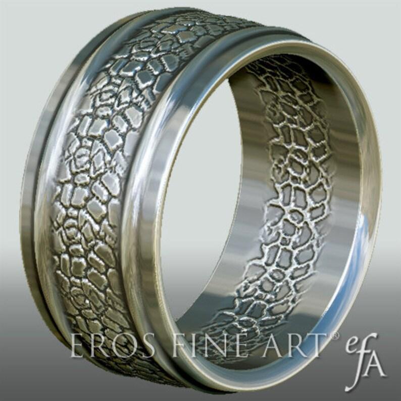 Ring No. 3   Bandring  Men's Ring  Men's Jewelery  image 0