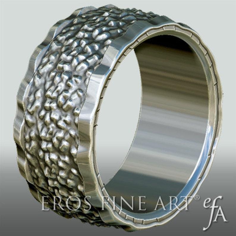 Ring No. 1  Bandring  Men's Ring  Men's Jewelery  image 0
