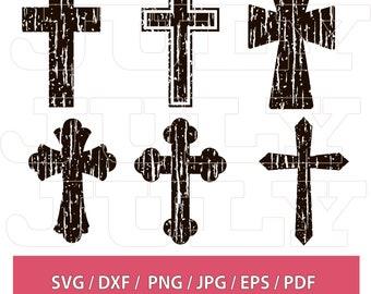 Christian Cross Svg Etsy