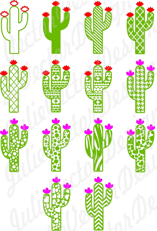 Cute Cactus Collection SVG Cutting Files Cactus svg Cactus ...