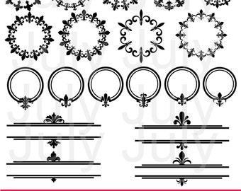 Fleur De Lis Clipart,  Fleur De Lis svg, Fleur De Lis Silhouette, Fleur de Lis Clip Art, Fleur de Lis Clip Art, Monogram Fleur de Lis SVG