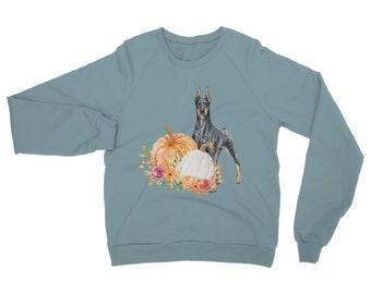 Fall Doberman Classic Adult Sweatshirt