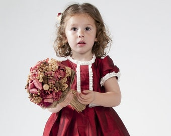 0aff0fa3a Vestido de niña para boda