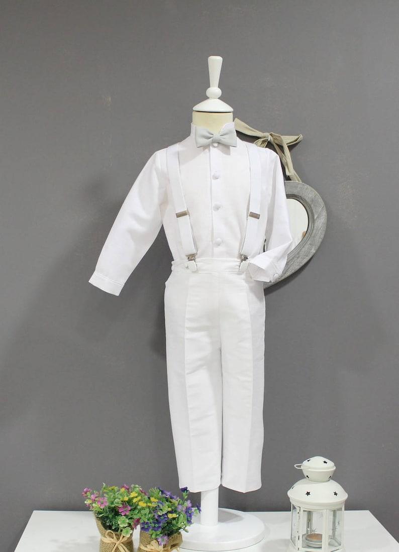 c37575b144ffb Costume pour enfant pour baptême mariage mariage... pantalon