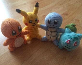 Pokemon Amigurumi Stuffed Toy