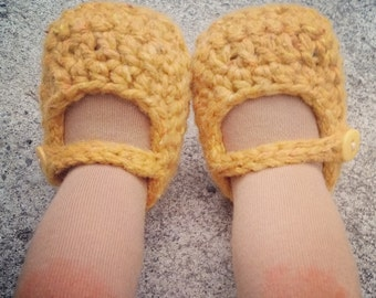 Crochet Pattern - Mary Janes for Dolls