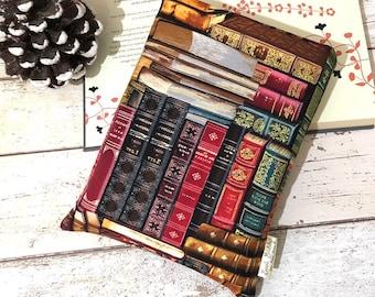 Classic Books Cover, Bookcase Book Buddy, Literary Book Gift, Padded Book Sleeve, Bookshelf Storage, Book Pouch, Bookshelf Accessories