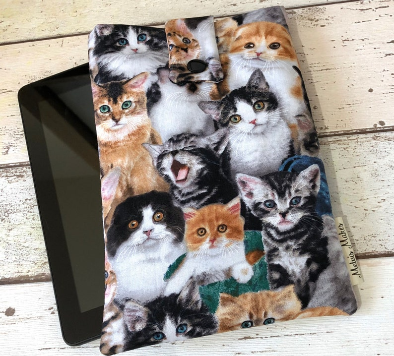 Cats Kindle Sleeve Kindle Oasis Paperwhite Voyage Fire 7 8 image 0