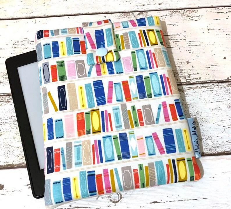 Summer Shelfie Kindle Sleeve Padded eReader Cover Travel image 0