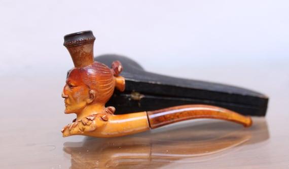 PIPE smoking Meerschaum.