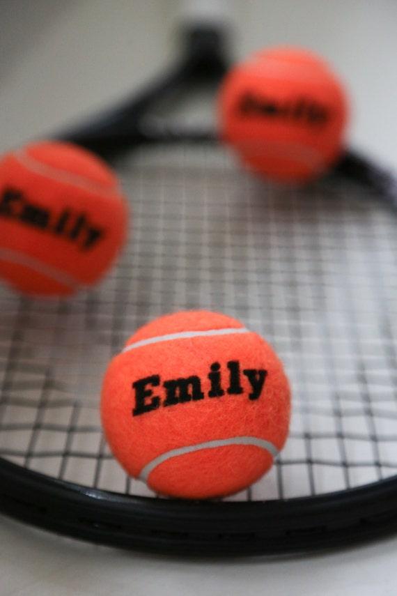 Personalised Tennis Balls