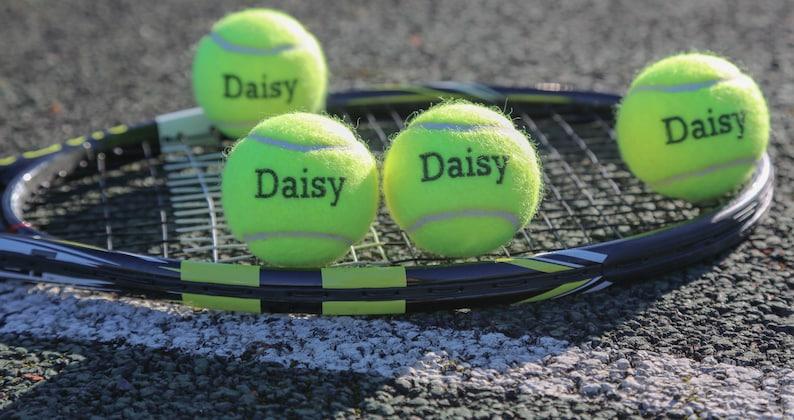 08281fdf29 Palline da tennis personalizzate | Etsy