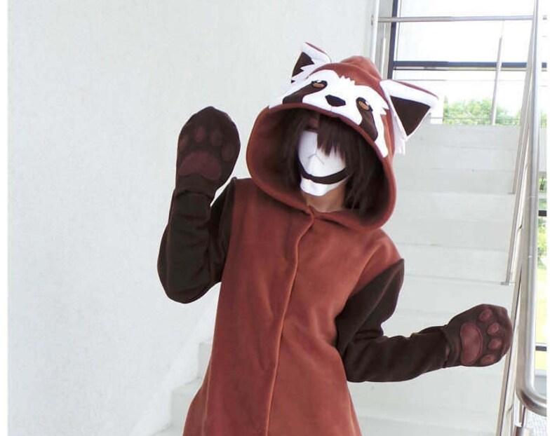 Custom Red Panda inspired KigurumiPajama
