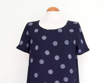 Ladies spotty shift dress