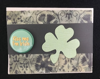 Irish theme all occasion greeting card