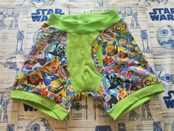 Legend of Zelda caractères ringard Boxer caleçons lingerie