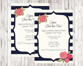 Direct Sales Home Party /Business Invitation /mary kay / Girls Night /open house / Flyer / Invite / Printable / Digital Download /