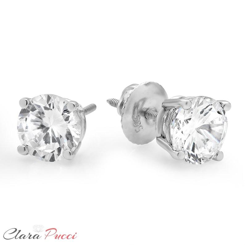 2e428bc49 14k Studs Gold 14k Studs Gold Earring Earring For Bride | Etsy