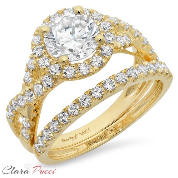 Wedding Rings Sets Wedding Ring Set Wedding Ring Sets Etsy