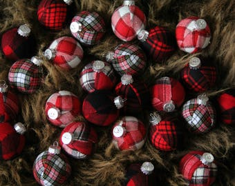 decoration ball red black white buffalo mad about plaid by madaboutplaid on