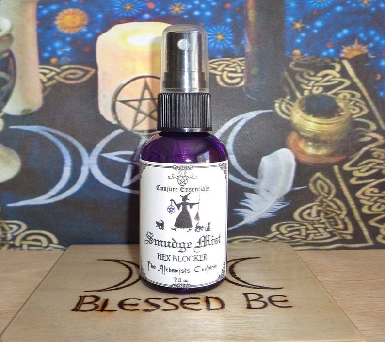 HEX BLOCKER Smudge Mist, Remove a Hex, Reverse, Remove Bad Luck, Liquid  Smudge, Room Spray, Sage Mist, Uncrossing, Sage Spray, Wiccan
