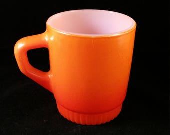 Orange Fireking Coffee Mug