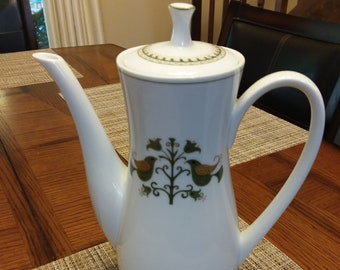Noritake China Hermitage Coffee Pot