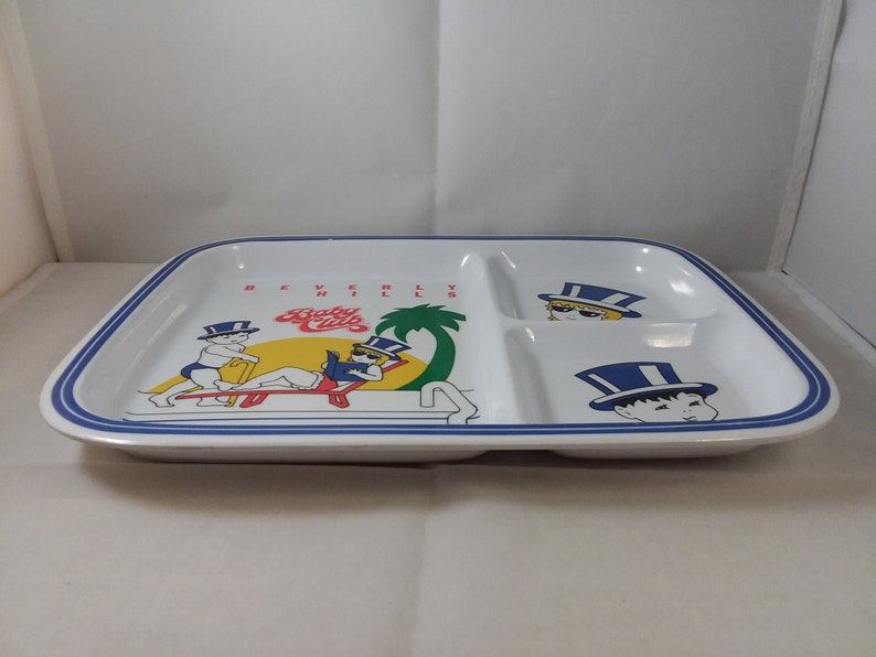Beverly Hills Baby Club Divided Plate