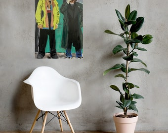 Jay and Silent Bob Photo paper poster