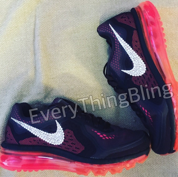 b2720f971f Custom Bling Nikes SWAROVSKI Clear elements bedazzled NIKE | Etsy