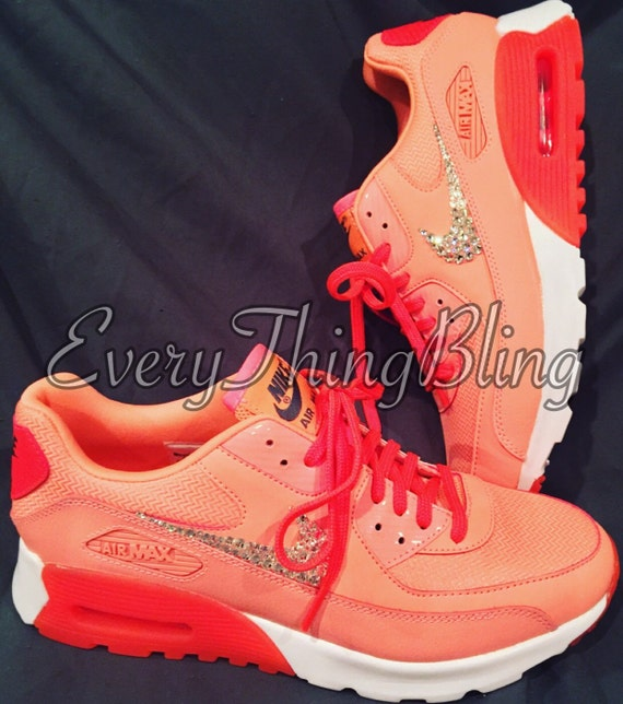 Swarovski elements on Womens NIKE AirMax 90 ULTRA  b03a6200b829