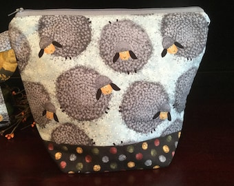 Puffy Sheep Knitting Project Bag